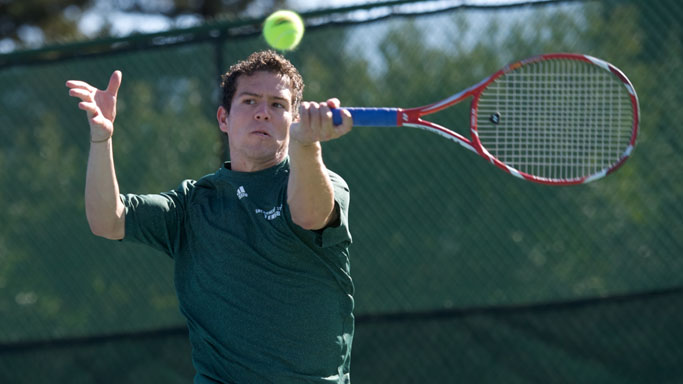 MEN'S TENNIS MOVES CLOSER TO POSTSEASON BERTH WITH 6-1 WIN OVER UND