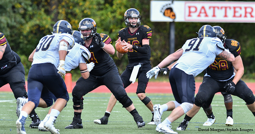 Football Rumbles Past Bison