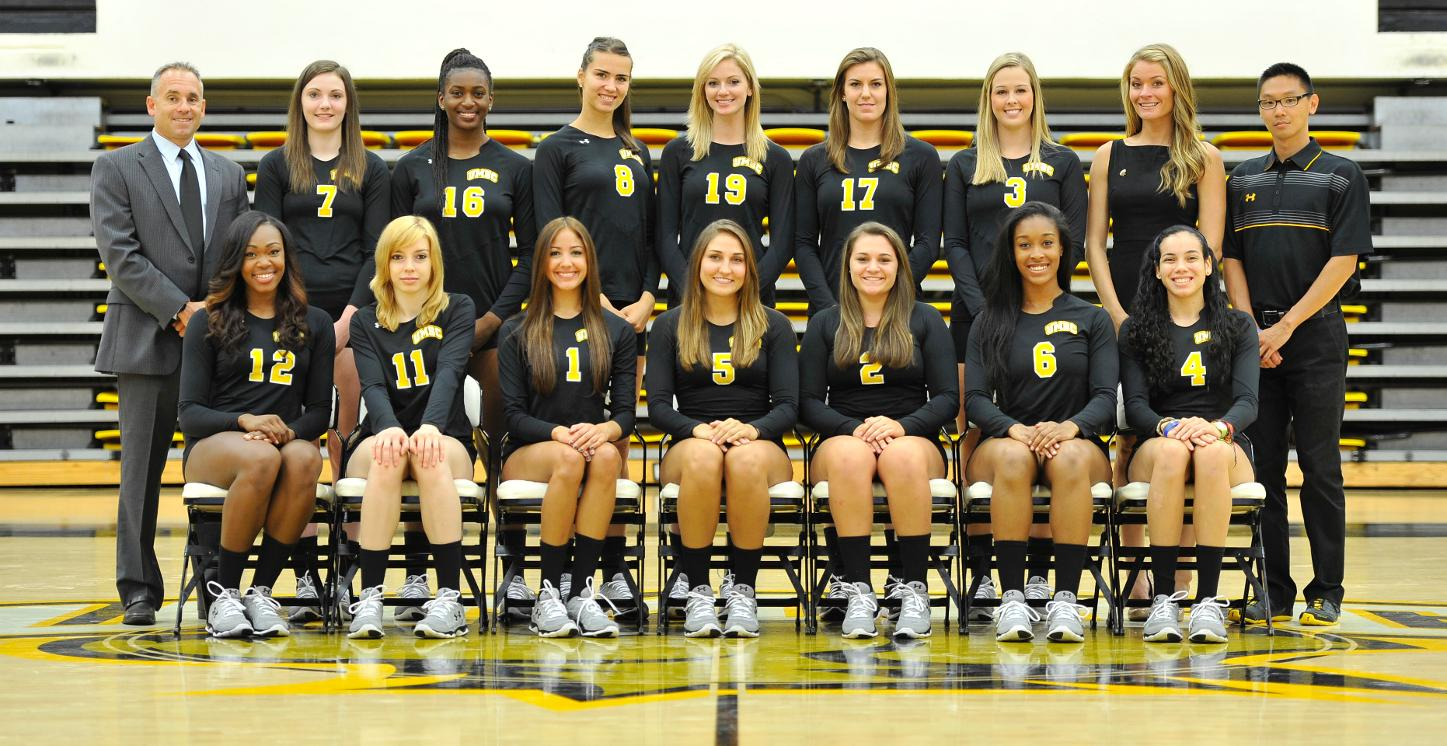 Volleyball Opens 2014 Slate at the Hawks Holiday Hullabaloo Tournament