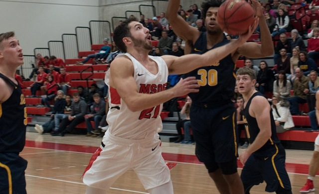 Men's Basketball Wins Seventh-Straight Game, Beats WLC 93-73