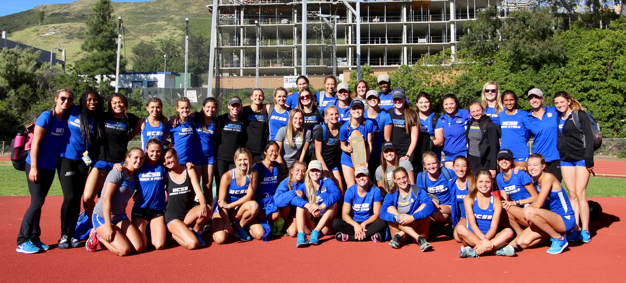 Gaucho Track and Field Women Defeat Cal Poly