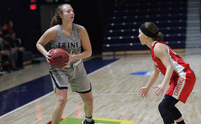 Trine Wins Big Against Adrian, 87-35