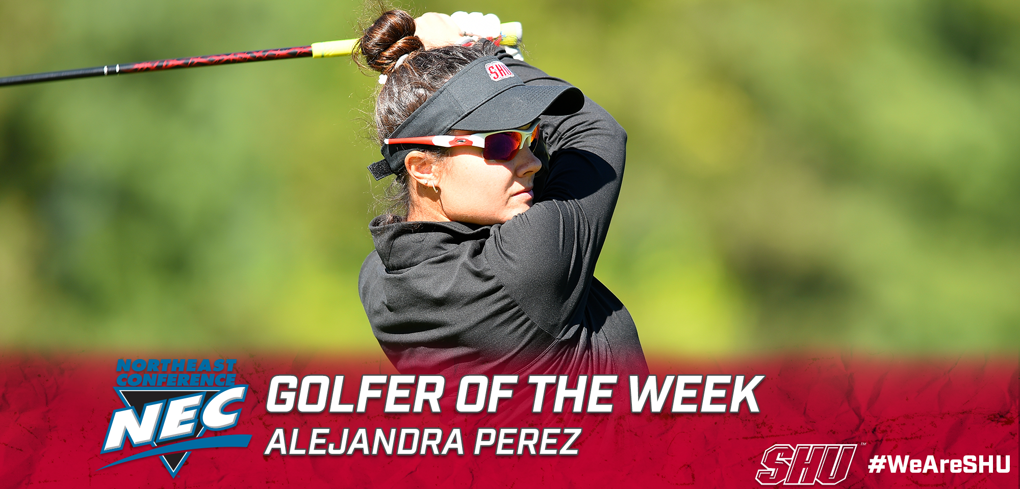 Perez earns NEC Golfer of the Week