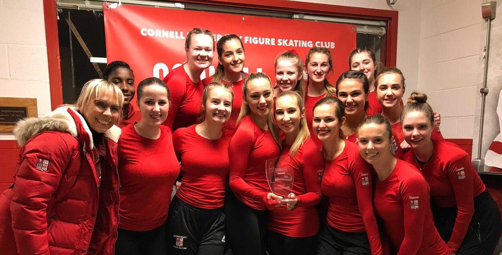 Figure Skating Makes SHU History By Taking Third Place At Cornell Challenge Cup
