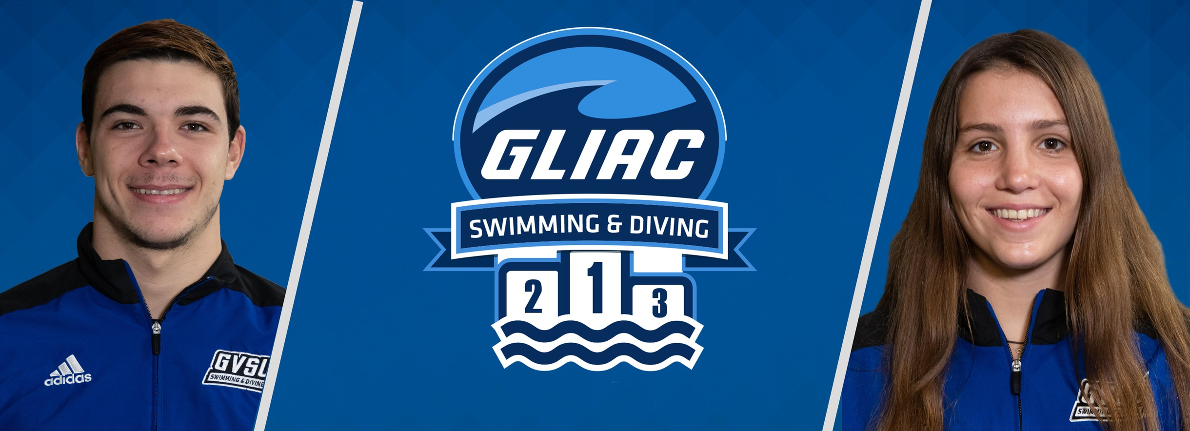 Grand Valley State's Saura-Armengol & Shiff Sweep GLIAC Swimming Athlete of the Week Awards