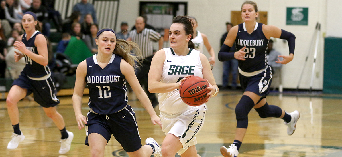Sage holds off Houghton, 60-57 led by Parslow, Patregnani