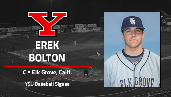 Erek Bolton Signs NLI to Join YSU Baseball Program