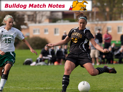 Ferris State Women's Soccer Notes - Match 10