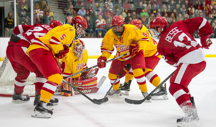Ferris State Holds On To Beat Wisconsin To Finish Weekend Home Series b01c7c377eb