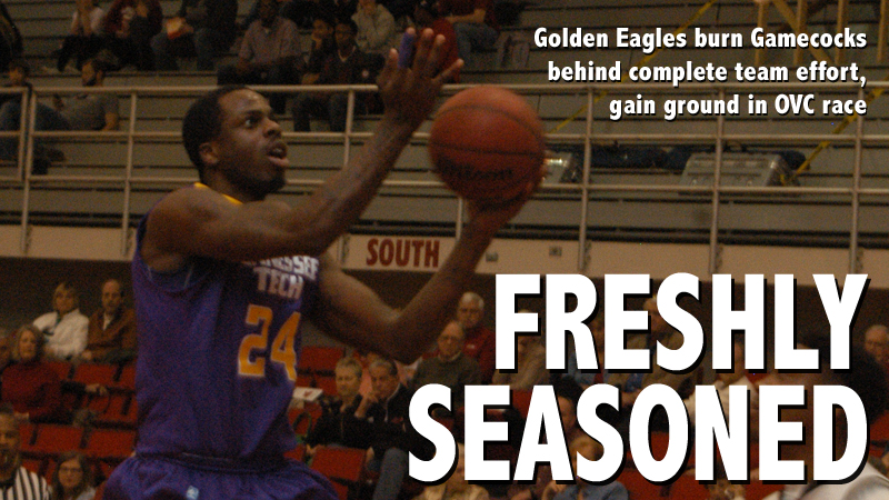 Golden Eagles cruise to road win at East Division foe Jacksonville State