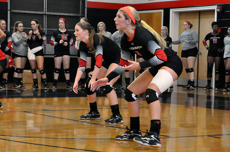 Volleyball: Panthers down Salem and Pensacola Christian in tri-match Saturday
