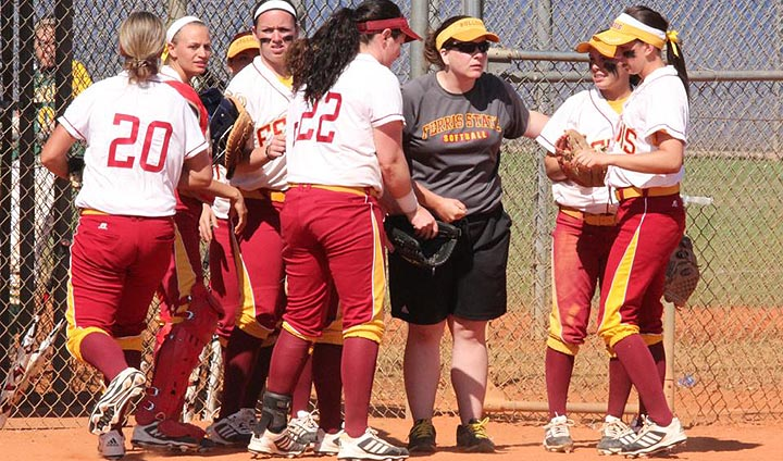 Ferris State Softball Registers Road Sweep Over Malone In Ohio