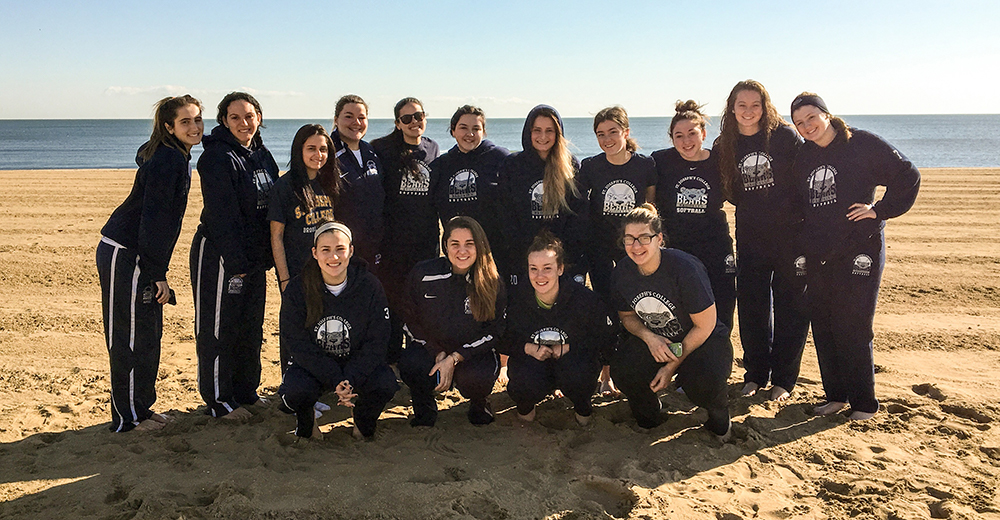 Csikortos Goes Yard and Softball Edges Out Eastern to Finish Beach Blast With 3-1 Mark