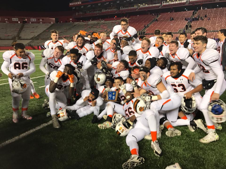 Ville Upsets 4 Time Defending State Champ Rumson-Fair Haven at Rutgers for State Title