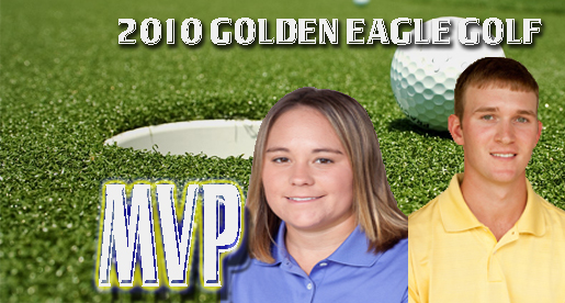 Simer, Bradford named MVPs of Tech golf teams for 2009-10 season