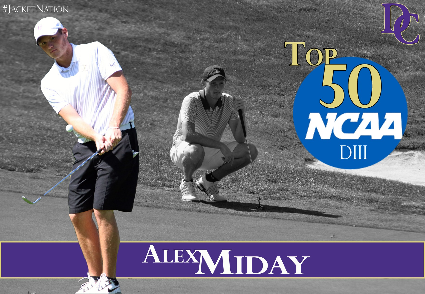 Senior Alex Miday Lands in the Top 50 among NCAA Division III