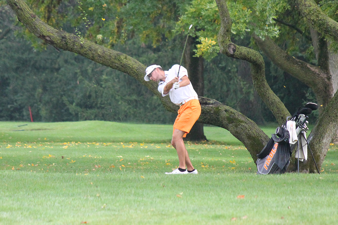 Oilers In Ninth After 36 Holes at Kyle Ryman