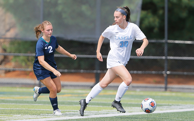 WSOC: Keene State pulls out win over Lasell; Speight scores twice in setback