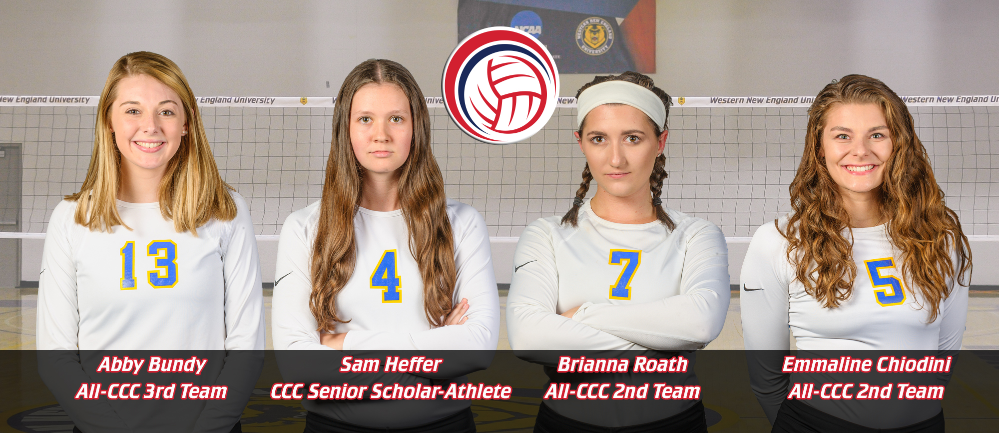 Heffer Named CCC Senior Scholar Athlete; Three Golden Bears Earn All-CCC Honors