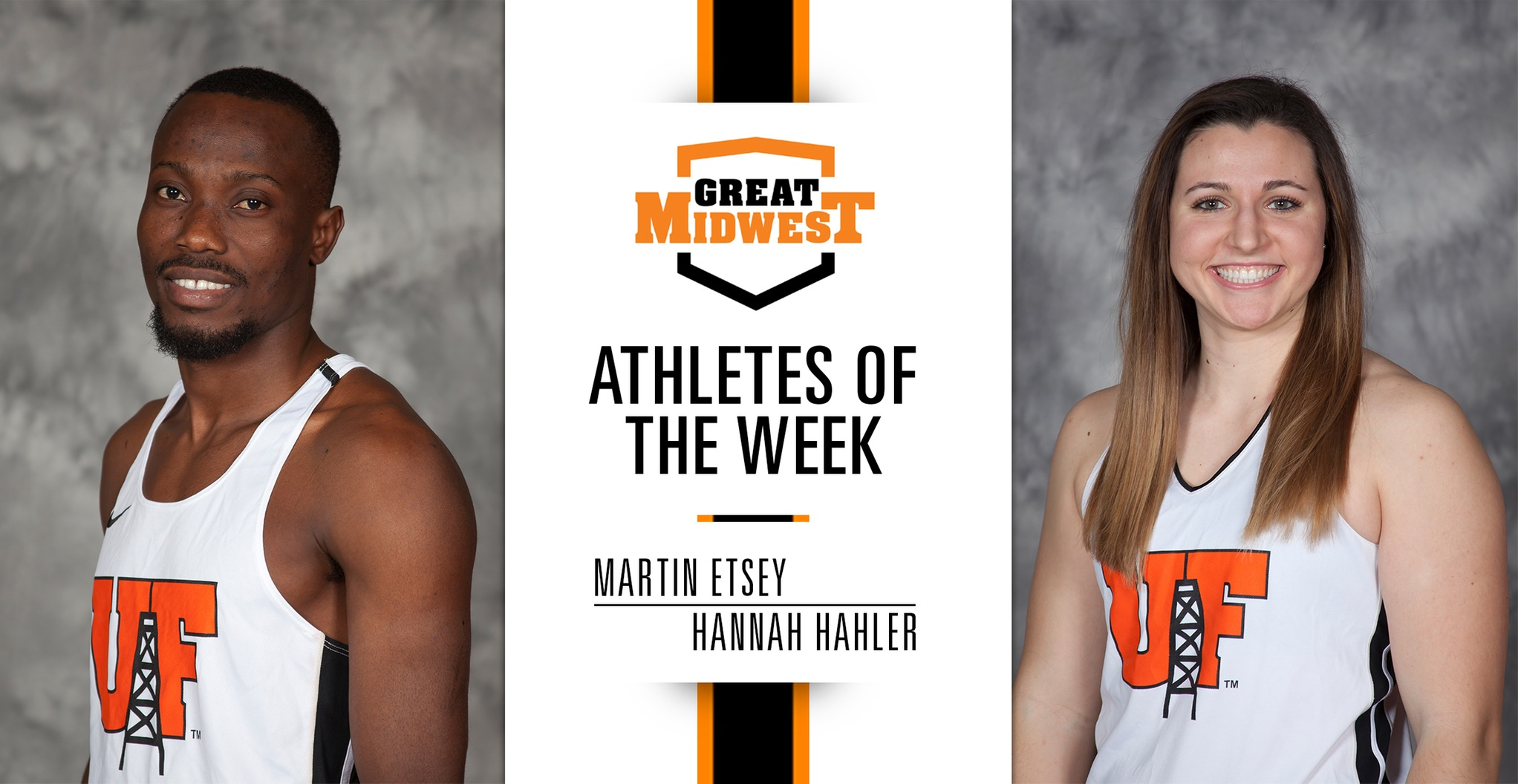 Etsey and Hahler Earn G-MAC Athlete of the Week