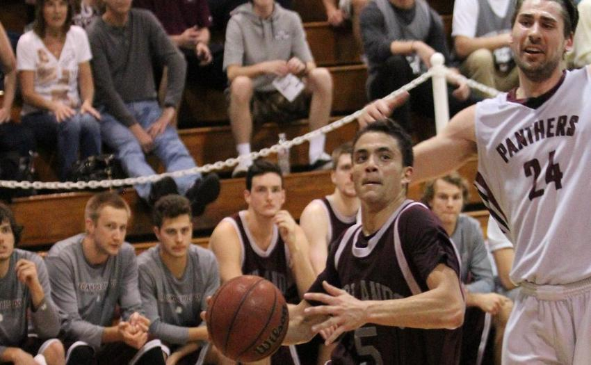 u of r men s basketball falls to chapman panthers in sciac