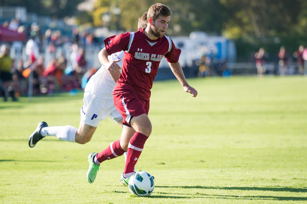 Men's Soccer Draws Exhibition 1-1 with San Jose State
