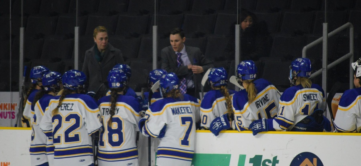JWU Women's Ice Hockey Falls to No. 4 Ranked Norwich 12-0