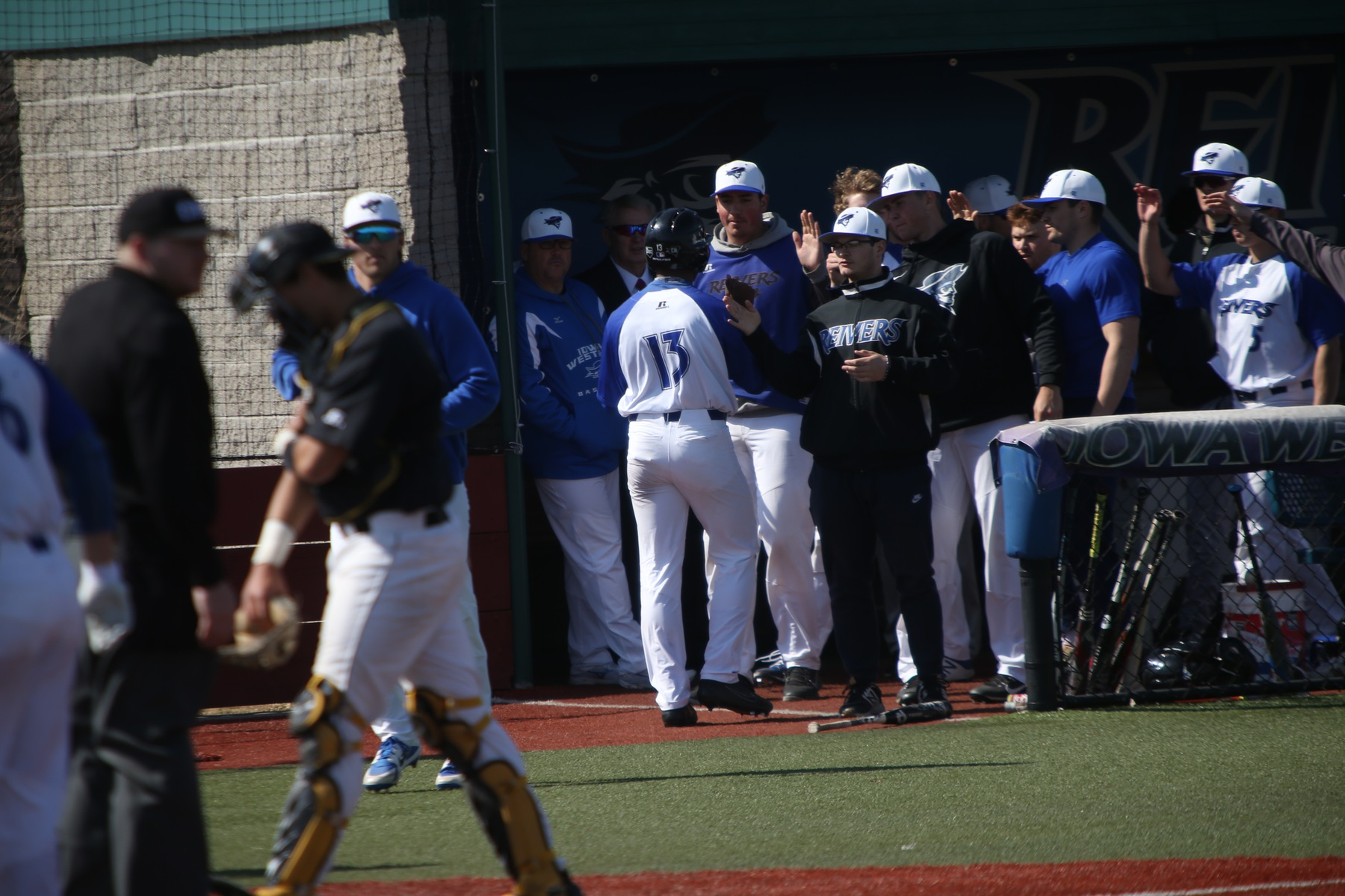 6 Days Separated the Series, Couldn't Stop the Reivers from Sweeping Marshalltown