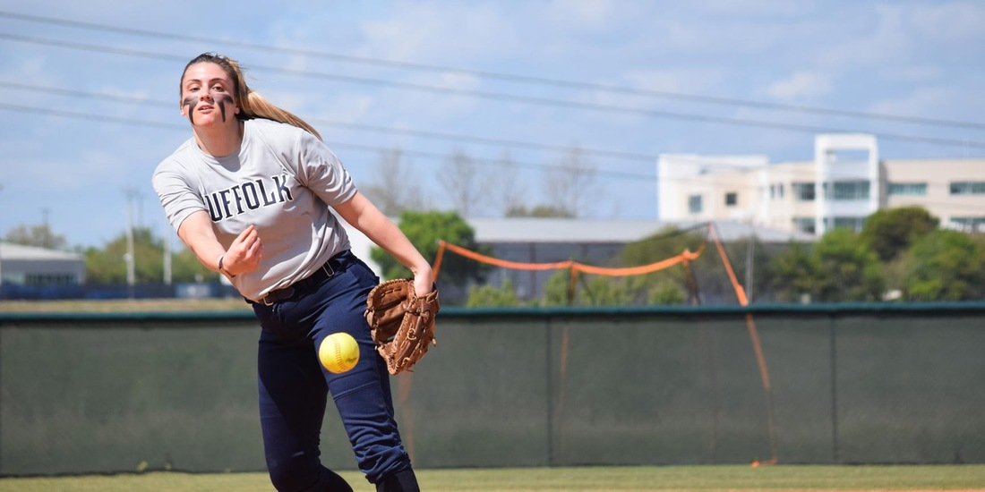 Yamakaitis Throws Complete-Game Shutout as Softball Blanks Lesley, 1-0