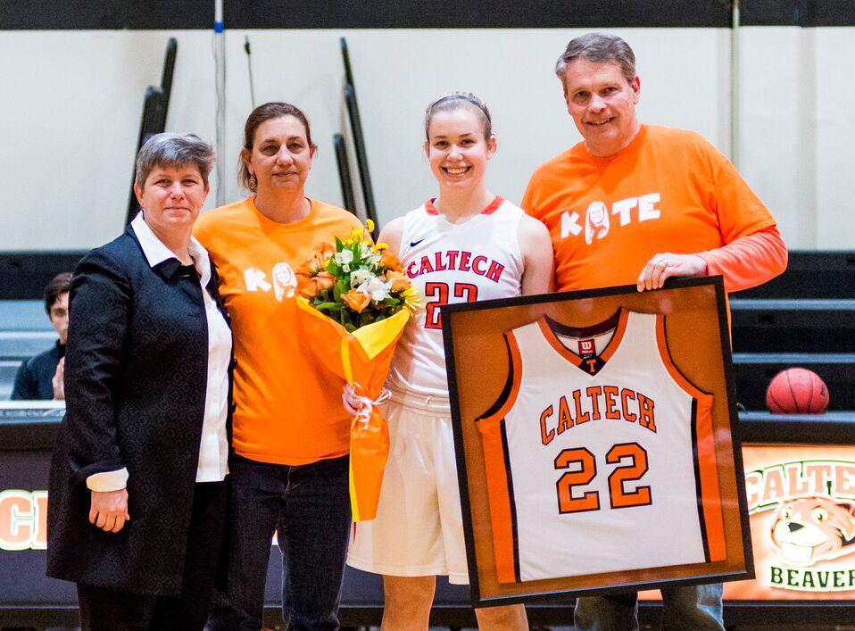Lewis Does It All in Senior Day Win