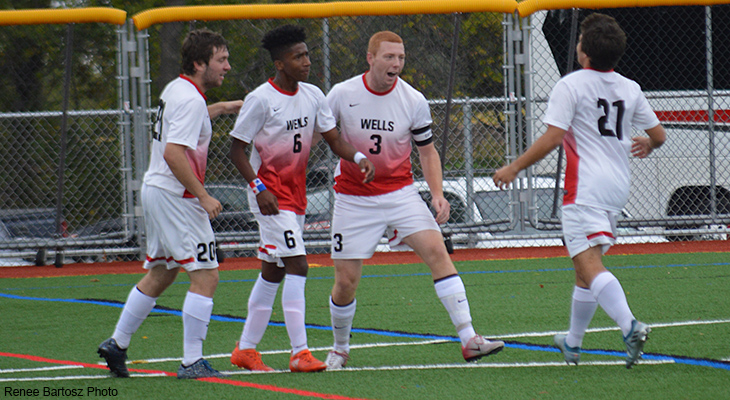 Offense Surges In Men's Soccer Victory
