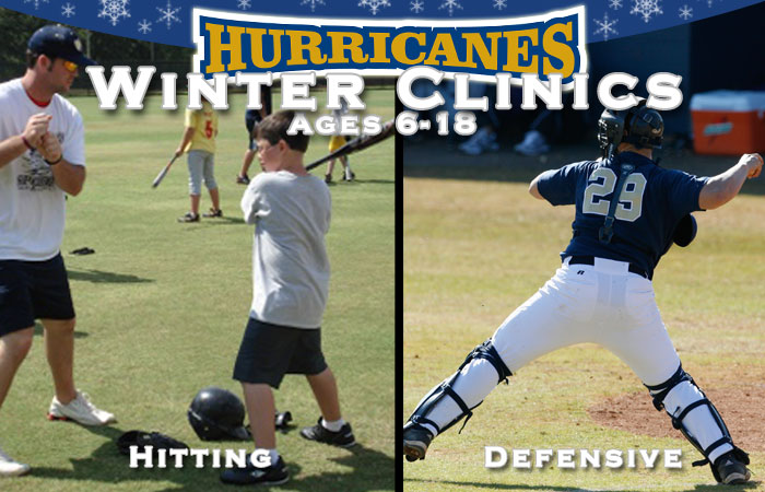 Youth Baseball  Winter Clinics Announced