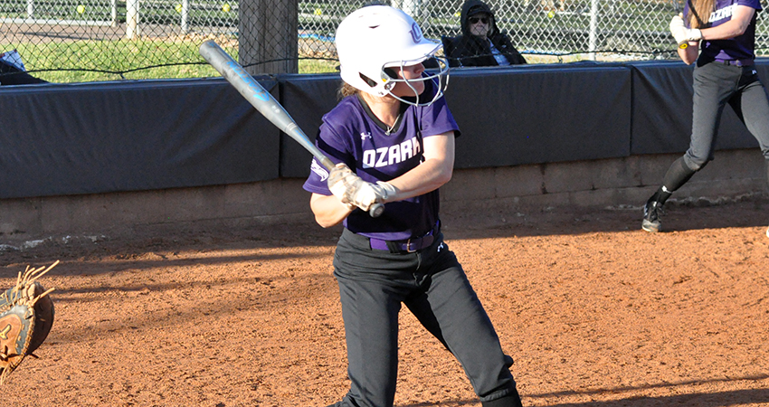 Taylor Teague drove in three runs against Hardin-Simmons.