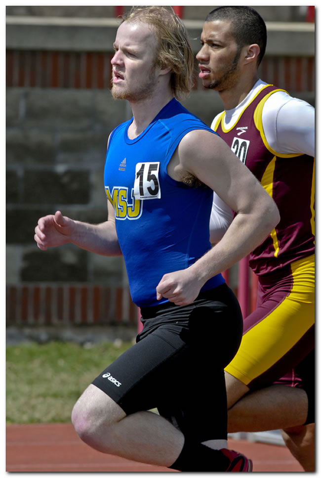 Mount men's track & field squad competes at the Otterbein University Invitational