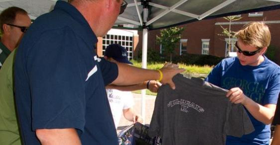 Second Annual T-Shirt Upgrade Kicks Off College Colors Day