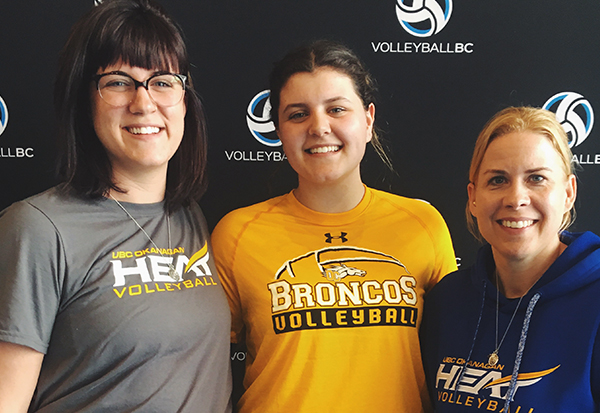 Broncos Women's Volleyball Welcomes Canada Games Alumni