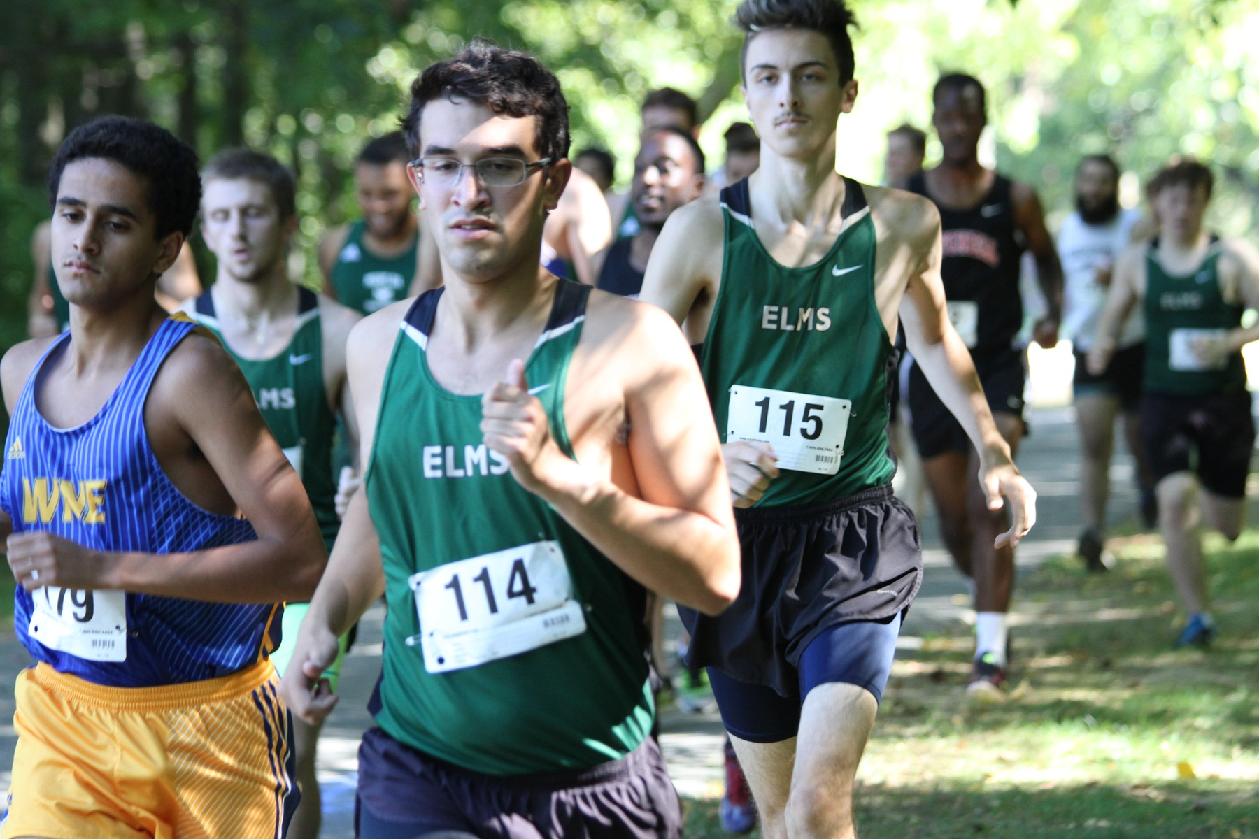 How Elms Cross Country Captains Kept Blazers Running During Coaching Transition