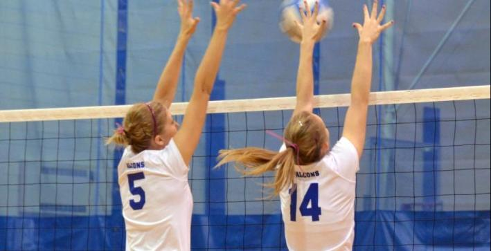 Volleyball falls twice during final day of CIT