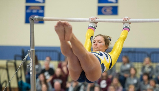 Gymnastics edges Titans