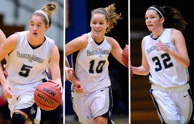 Three Named to All-CC; Barbush Named Player of the Year