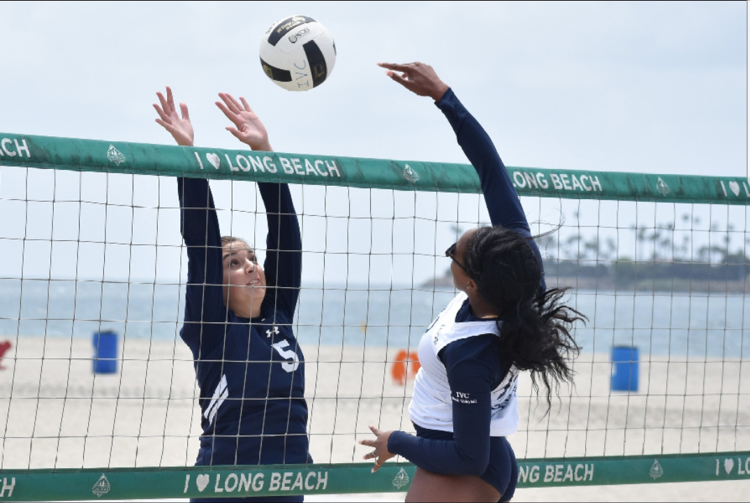 Women's beach volleyball team clinches spot in state tourney