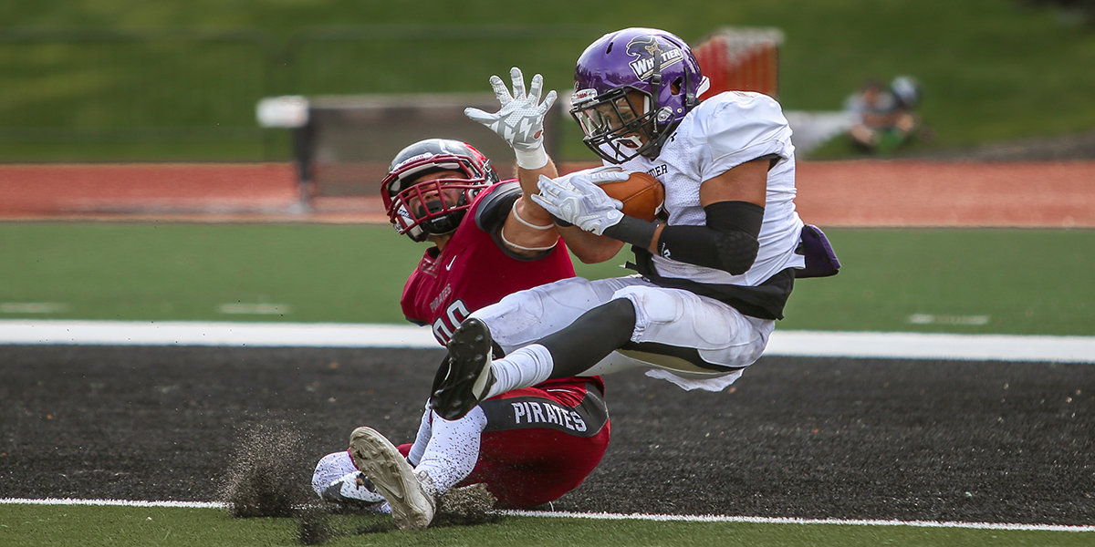 Football falters in opener 49-10 to No. 24 Whitworth