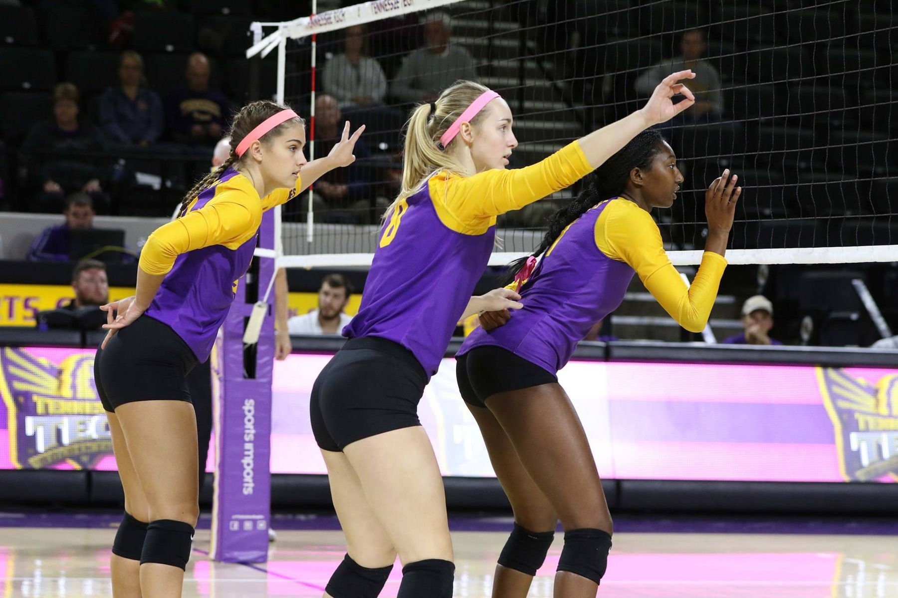 Tech volleyball falls to Toledo, Youngstown State in final non-conference tournament