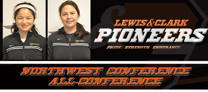 Women's Tennis Northwest Conference All-Conference List Announced; Lew makes First-Team, Sweetman Second-Team