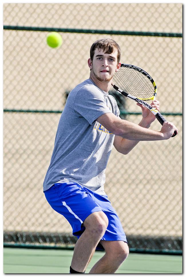 Mount men's tennis team concludes seasonal play against Transylvania University