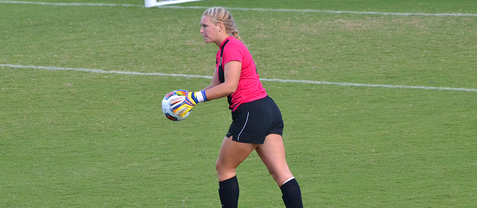 FC goalkeeper Lexi Short (Photo courtesy of Kyle Piercy, Centre College SID)