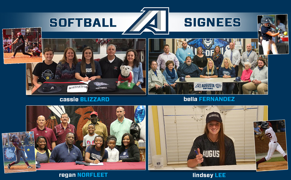 Softball Inks Four Freshmen In Early Signing Period For 2018 Season