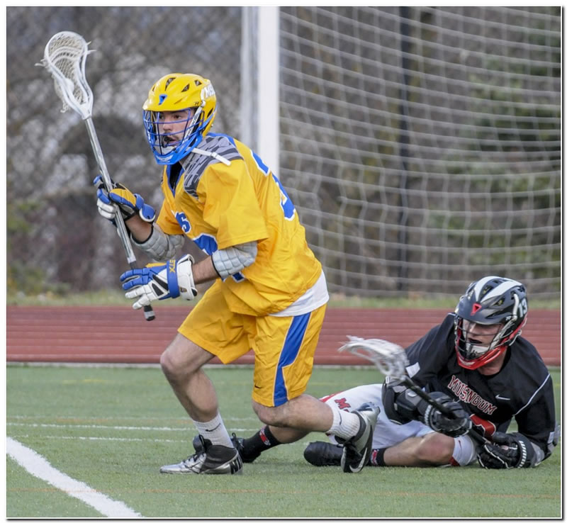 Lions' men's lacrosse team suffers home setback to Kenyon College