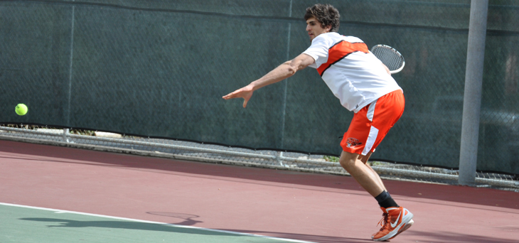 Men's Tennis Wraps Up 2012 at Championships