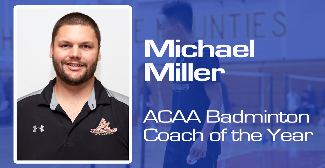 Miller Named Badminton Coach of the Year